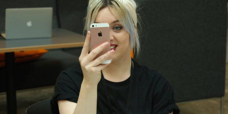 Lacey Selfie